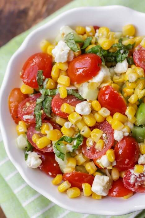 image of summer corn salad