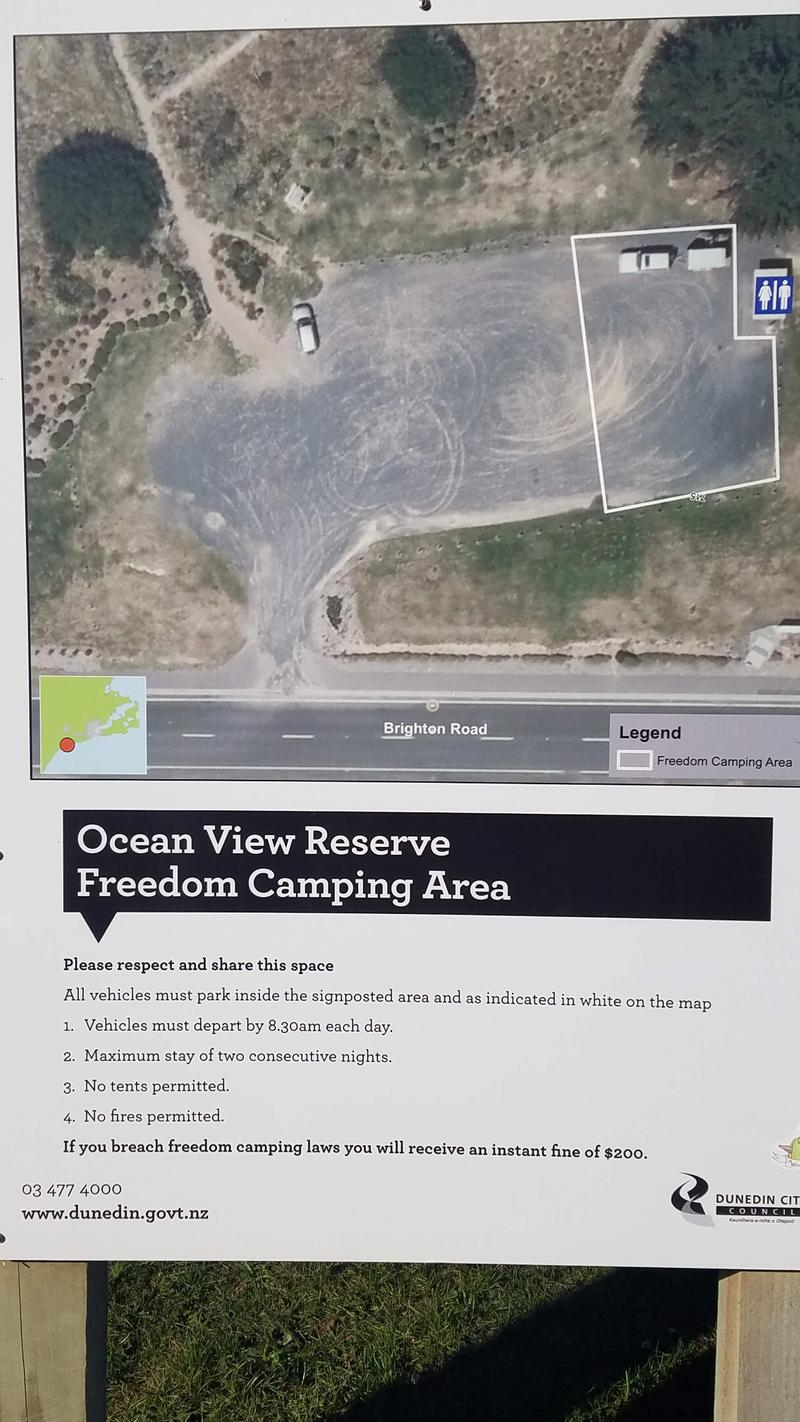 Freedom Camping Rules and Regulations