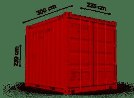TrawlFeet - Container 10 Feet \<