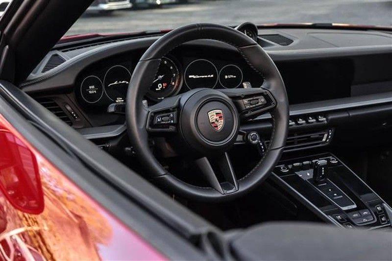 Porsche 911 4S CABRIO 4WSTURING+ST.KOELING+SP.CHRONO NP.218K afbeelding 14