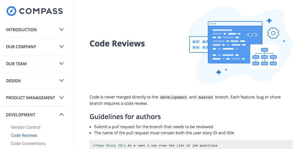 Nimble's Handbook to code reviews