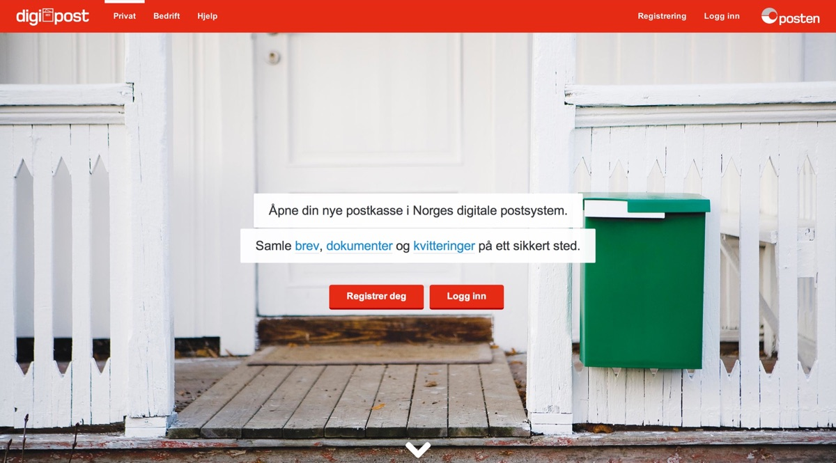Digipost screenshot