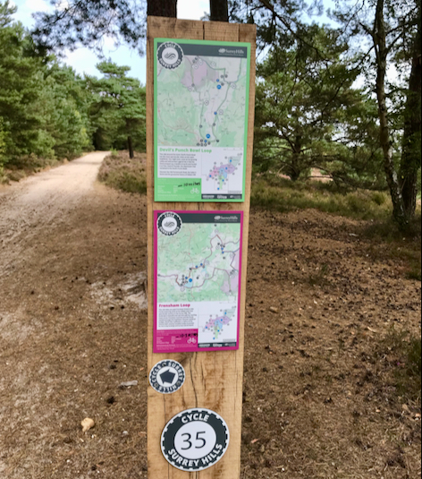 Cycle Surrey Hills - New Marked Routes