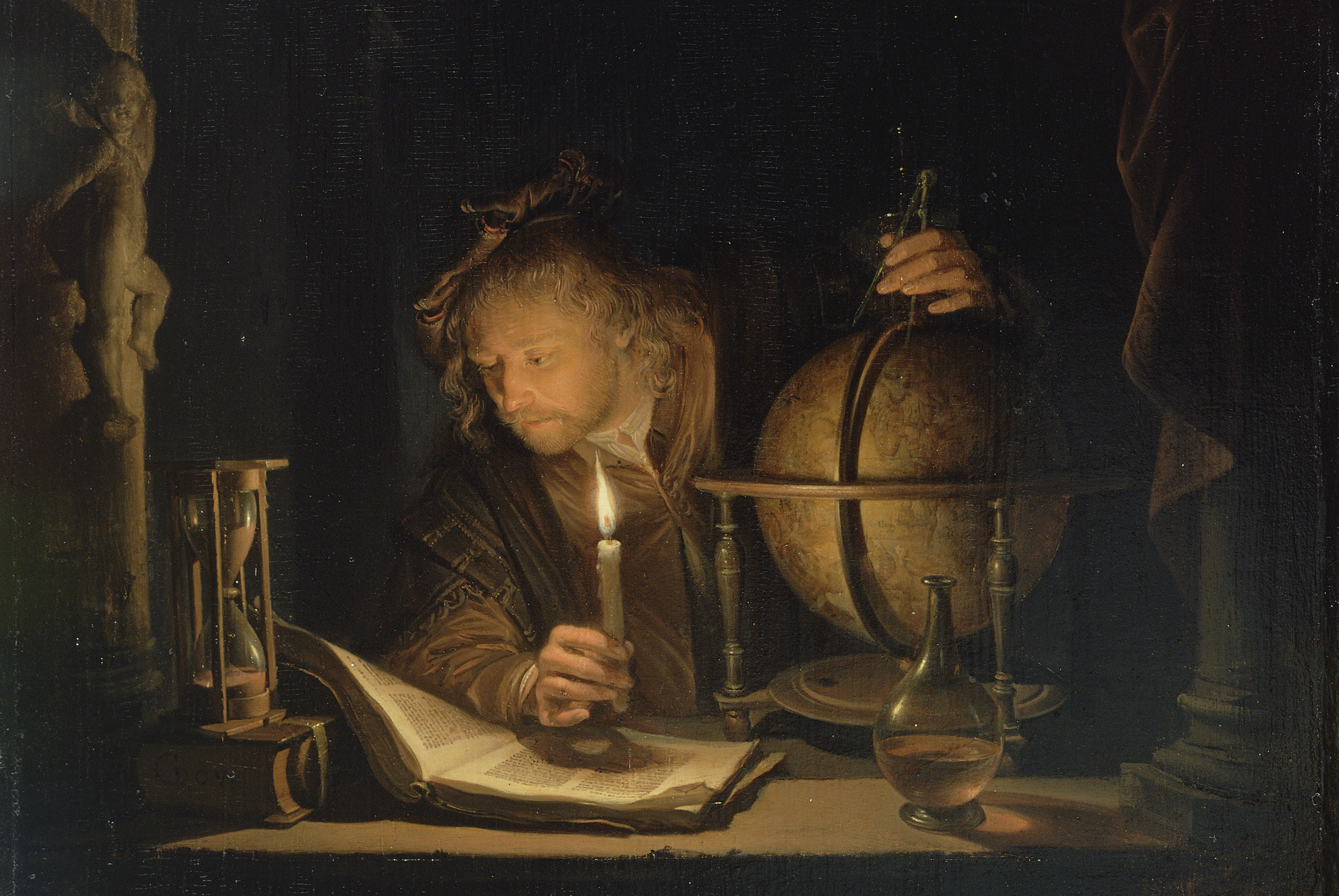 Astronomer by Candlelight