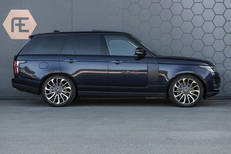 Land Rover Range Rover 5.0 V8 SC Autobiography Portofino Blue + Verwarmde, Gekoelde voorstoelen met Massage Functie + Adaptive Cruise Control + Head Up afbeelding 7