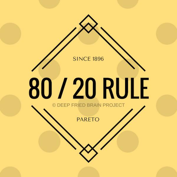 Pareto's Principle and 80-20 Rule