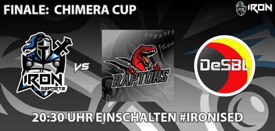 IRON ESports im Finale beim Chimera Cup!