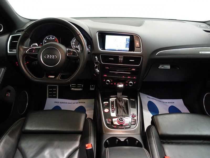 Audi SQ5 3.0 TFSI Quattro 354pk Autom- Panodak, B&O, Leer, Camera, Navi, Xenon, 21 Inch LMV afbeelding 15