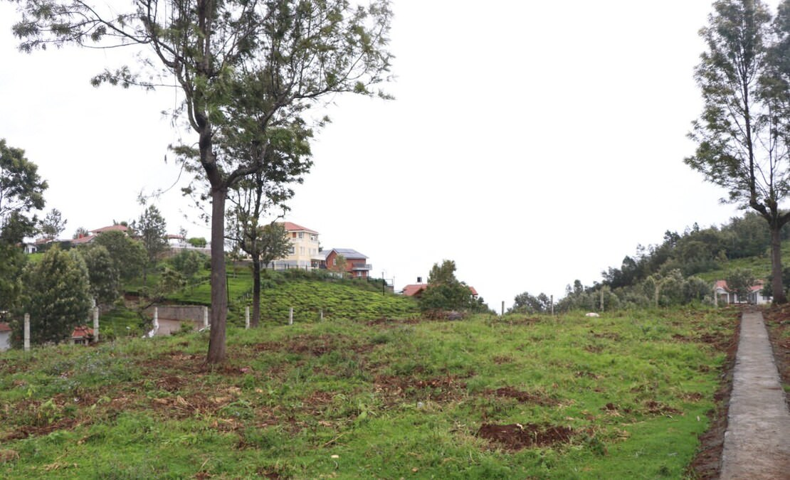 Plot 2 at Hillsview is a flat property at the plateau