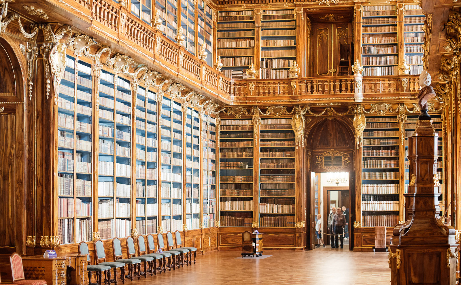 Going Behind the Scenes at the Beautiful Strahov Monastery Library in Prague