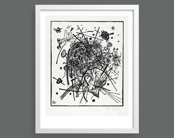 Small Worlds VIII (Kleine Welten VIII) by Vasily Kandinsky