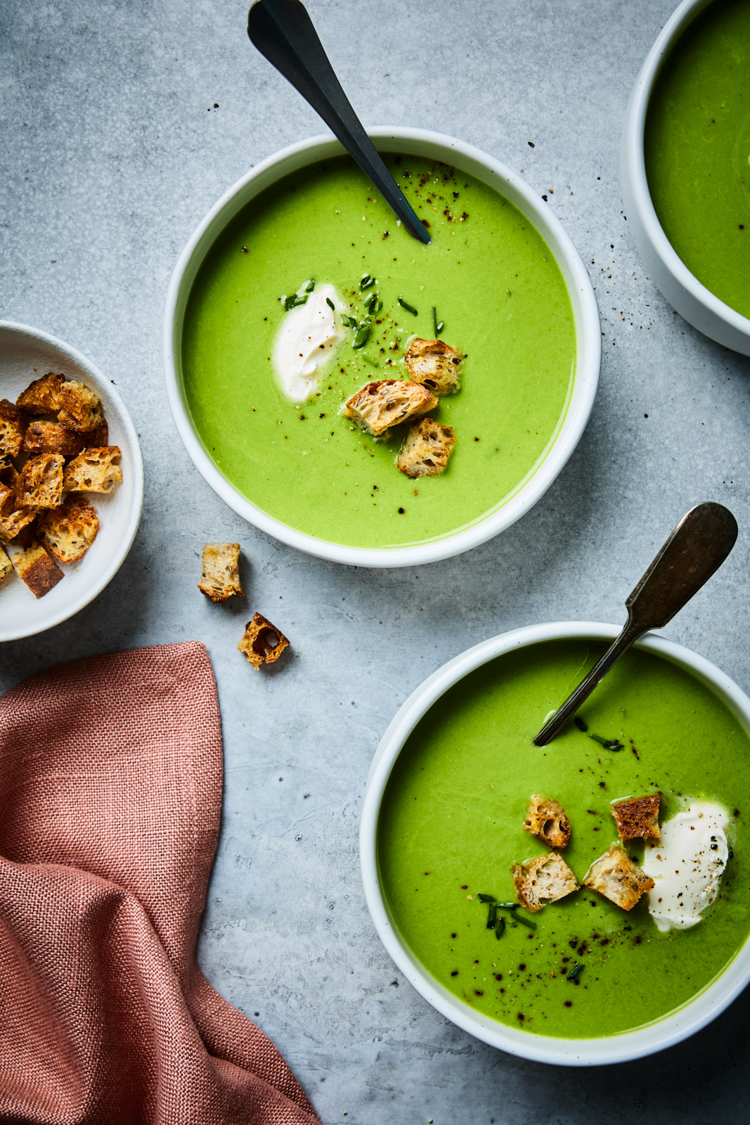 Fresh Pea Soup (Potage Saint-Germain)