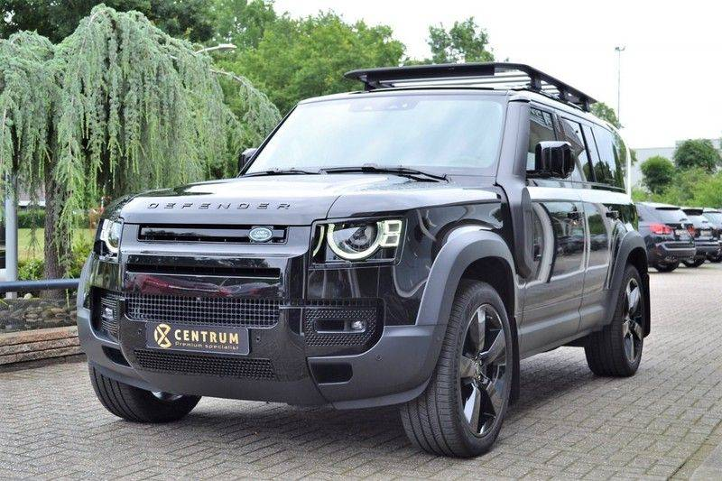 Land Rover Defender 3.0 P400 110 Black Pack 7-Zits NW 182.700,- euro afbeelding 1