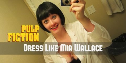 Mia Wallace is an excellent choice of costume for anyone who is a fan of Pulp Fiction, or just wants to bring to life this legendary 90s femme fatale