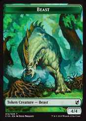 image relating to Mtg Tokens Printable called Magic: the Accumulating token playing cards MTG.onl Tokens