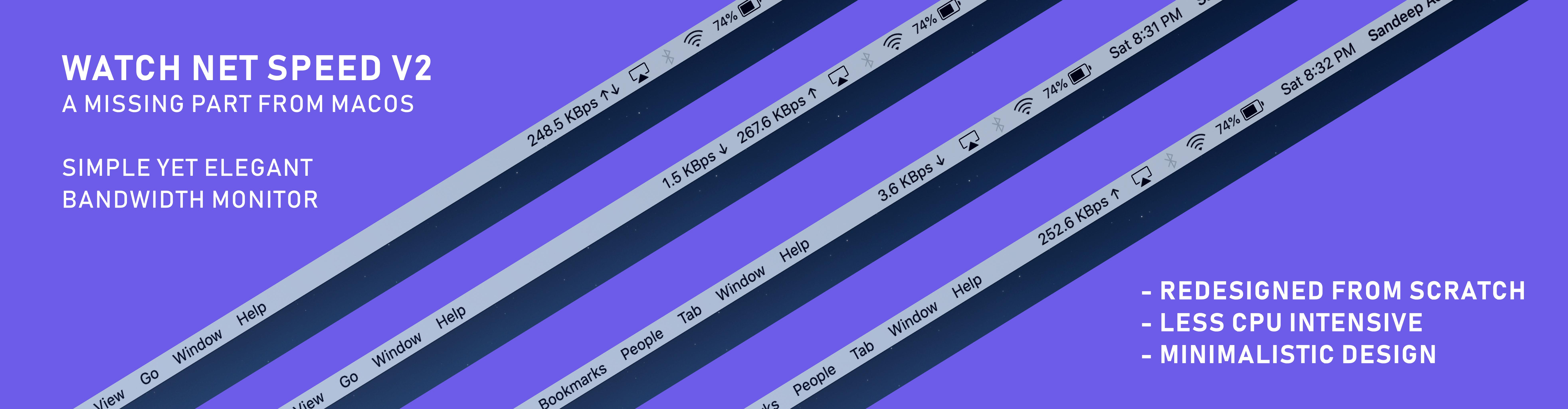 Mac Internet speed meter mac bandwidth monitor
