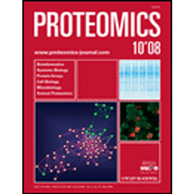 Proteomics, PMID: 18491321