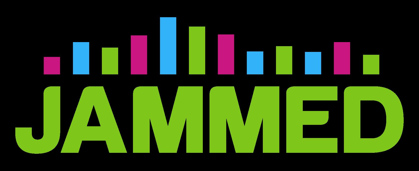 Jammed logo in green