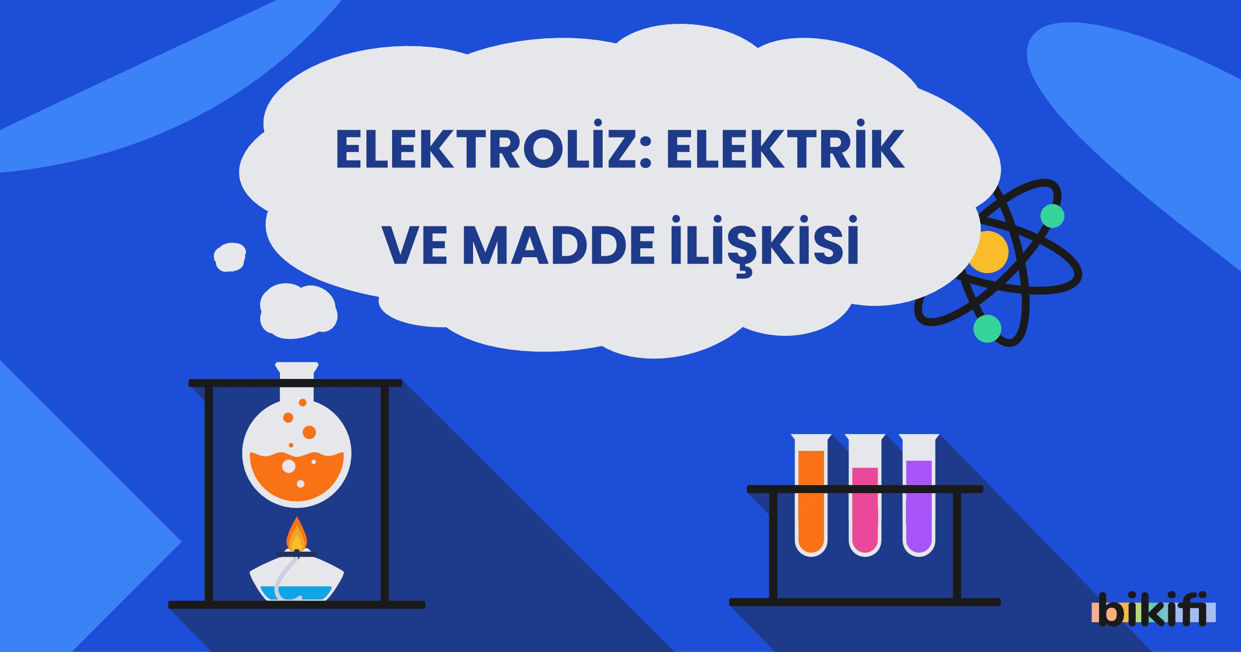Elektroliz: Elektrik ve Madde İlişkisi