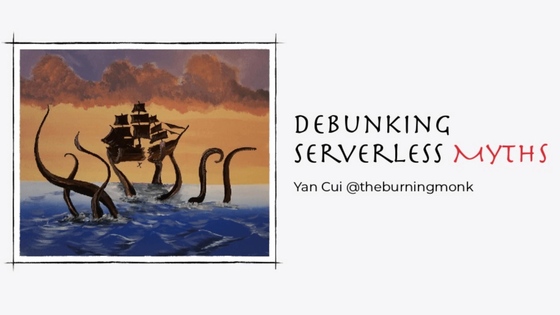 Yan Cui - ServerlessDays Hamburg