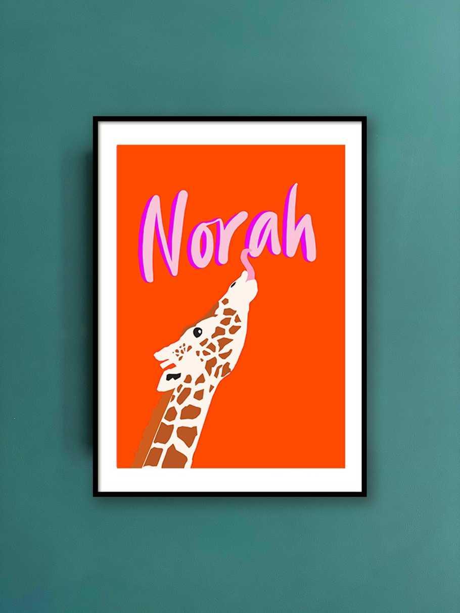 personalised-print-giraffe