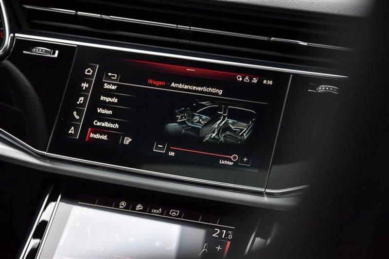 Audi Q8 55 TFSI S-LINE+23INCH+PANO.DAK+360CAM+BLACKLOOK afbeelding 22