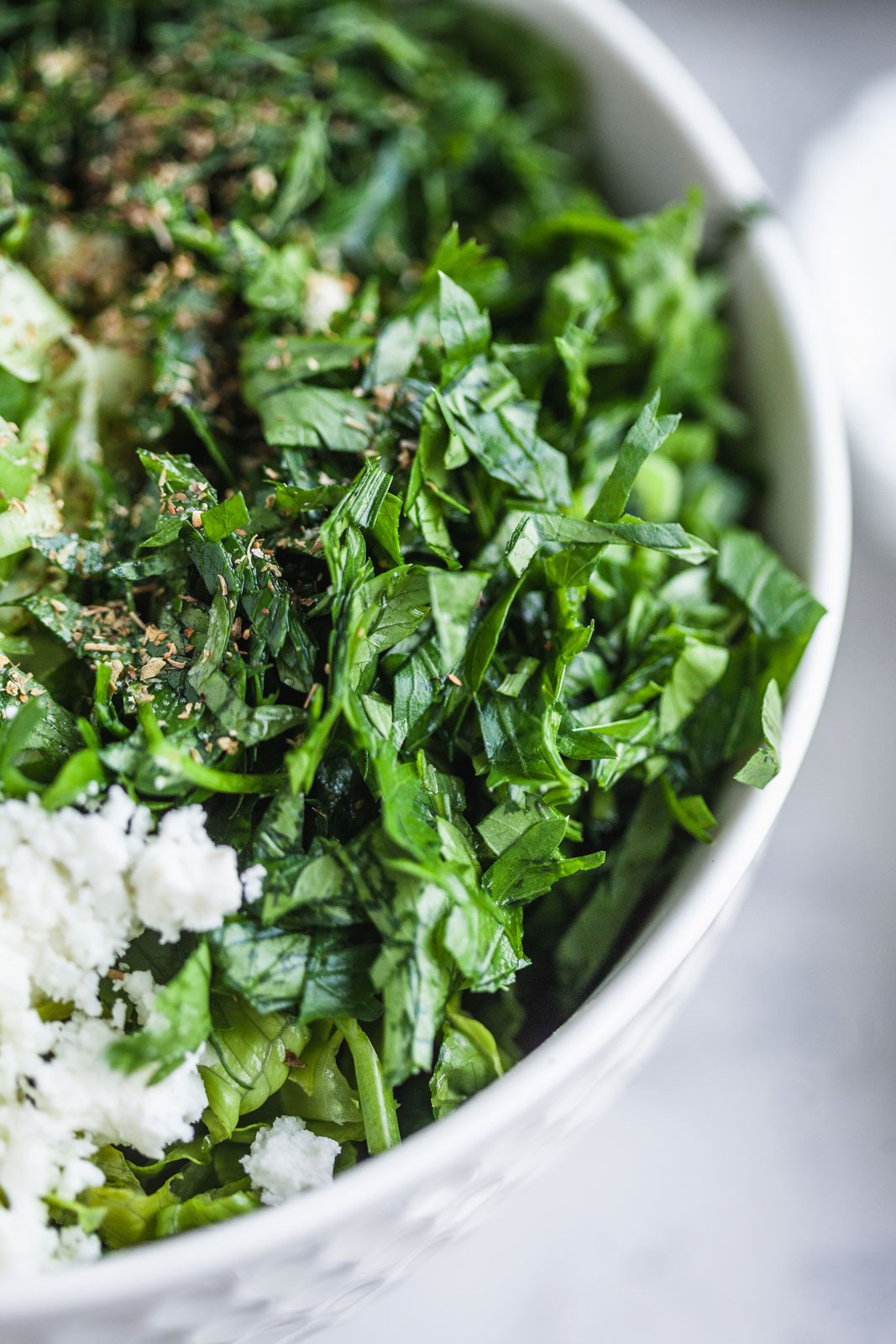 Classic Greek Lettuce Salad