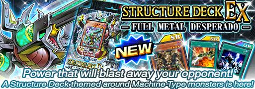 New Structure Deck EX: Full Metal Desperado   Duel Links Meta