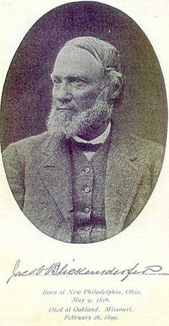 Jacob Blickensderfer