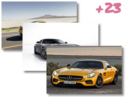 Mercedes Amg Gt theme pack