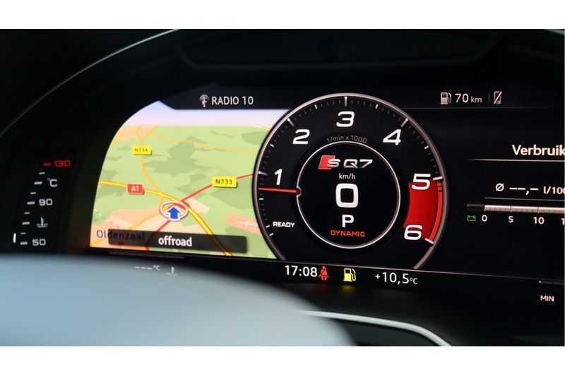 Audi Q7 4.0 TDI SQ7 quattro Pro Line + BOSE, Ruitstiksel, Carbon, Trekhaak afbeelding 21