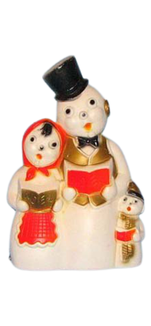Snowman Carolers photo