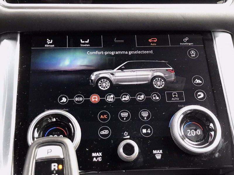 Land Rover Range Rover Sport 5.0 V8 SC HSE P525 Dynamic, 525PK, ACC, Pano, Meridian, Luchtvering, Keyless, Soft-Close, Head-Up, Camera, Matrix, Lane Assist, afbeelding 19
