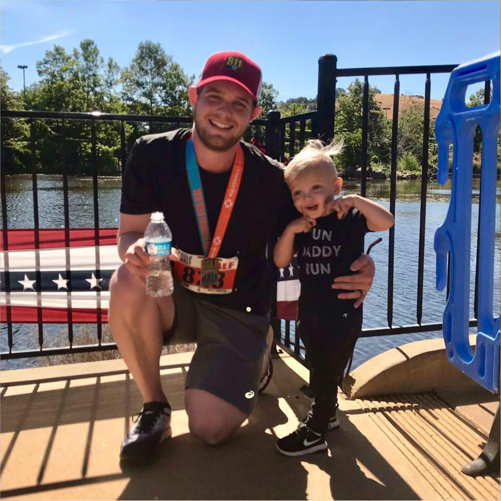 Jon Yetter half marathon
