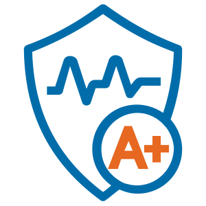 Cybersecurity Health Checkup Icon