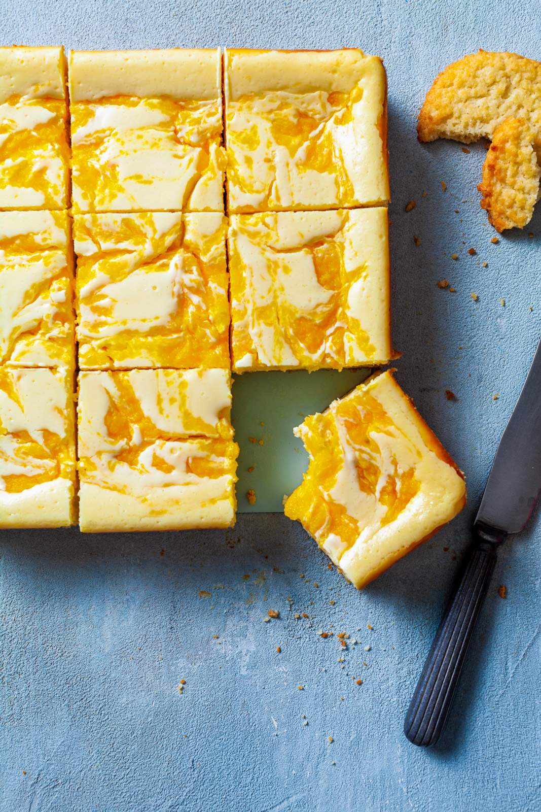 Mango Cheesecake Bars