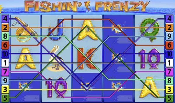 fishin frenzy merkur slot spielübersicht screenshot