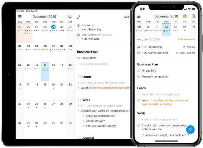 NotePlan 2 on iPad