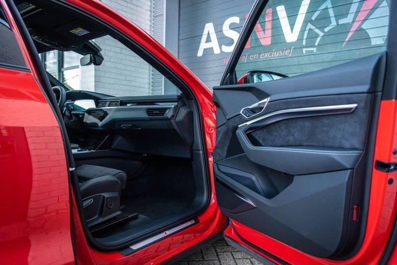 Audi e-tron 55 Quattro Advanced Exterieur, 408 PK, 4% bijtelling, Head/Up display, Pano/Dak, Night/Vision, S-line interieur, 15DKM afbeelding 8