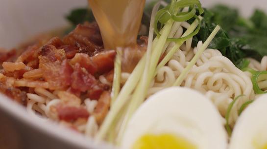 Bacon and Egg Ramen