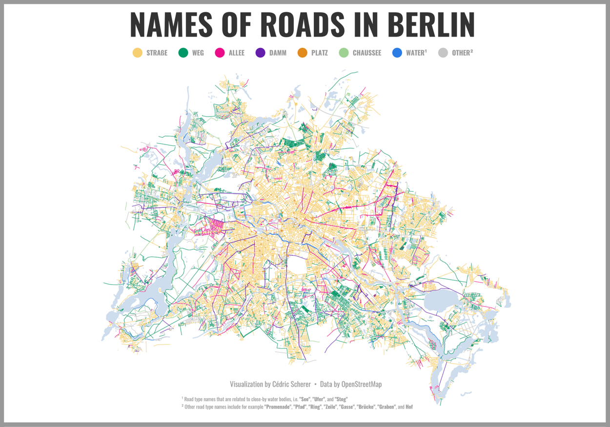 Berlin Road Names