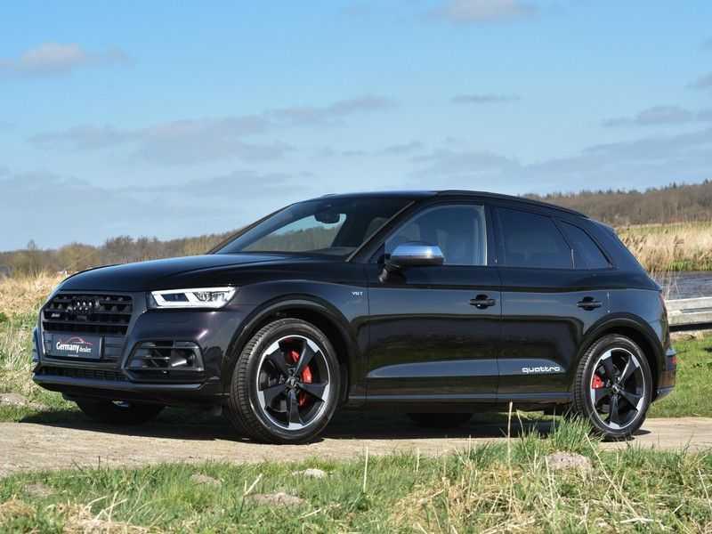 Audi SQ5 3.0TFSI 354pk Quattro Black Optic Alle Opties! Individual Lucht Tr.Haak Standk Ruitleder 360Cam afbeelding 15