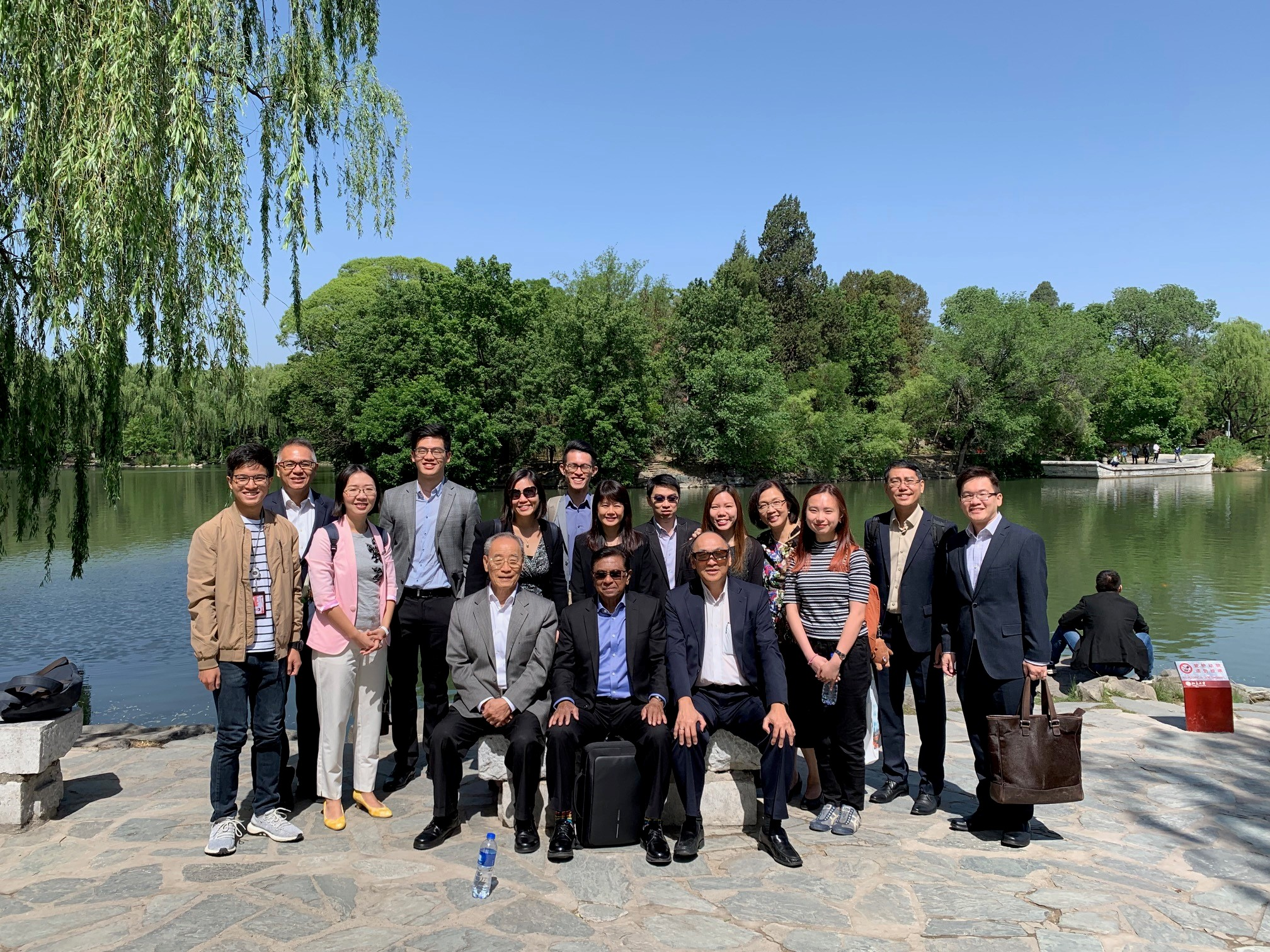 alt text - group photo of PSC visit to China