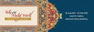 A title card labelled: 'Tales of the Malay World'.