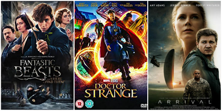 Fantastic Beasts and Where to Find Them, Doctor Strange, Arrival