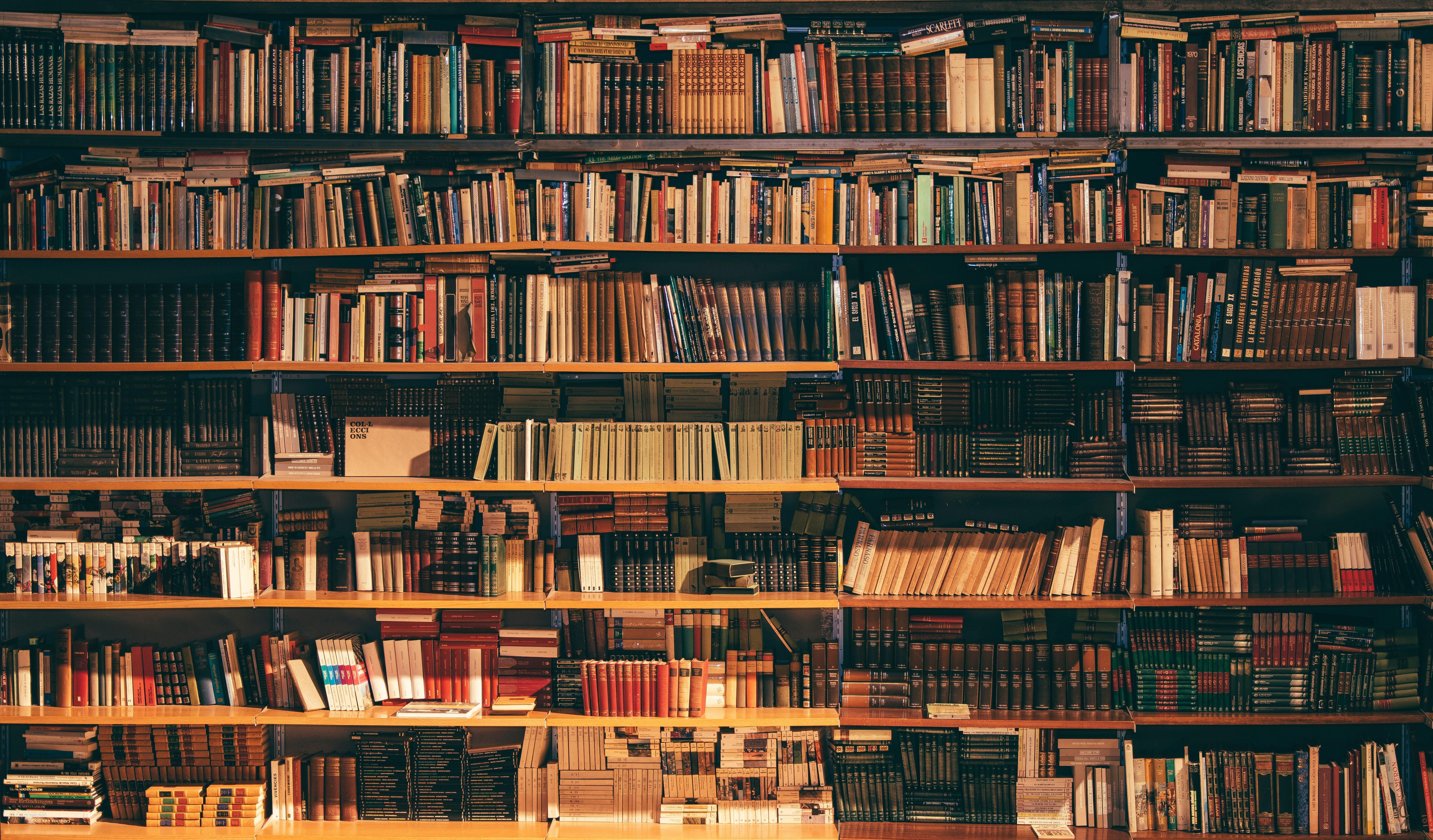 Imagem de uma biblioteca
