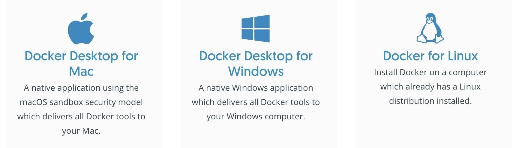 docker download