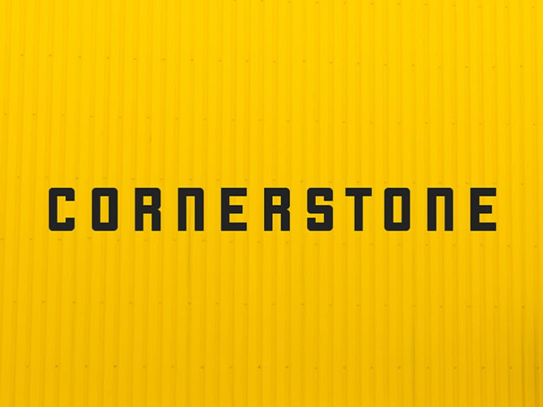 fonte gratuita Cornerstone