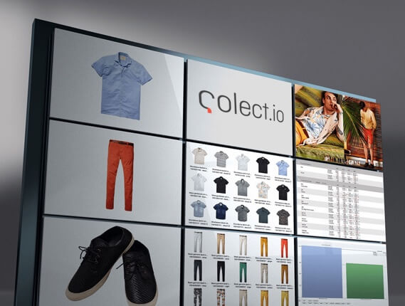 colect digital showroom