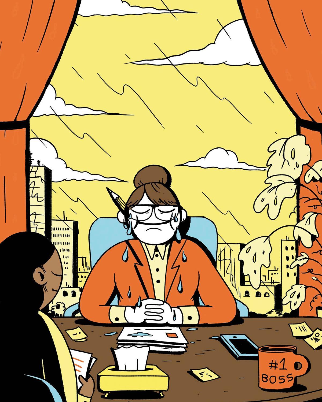 Warum es okay ist, in Meetings zu weinen